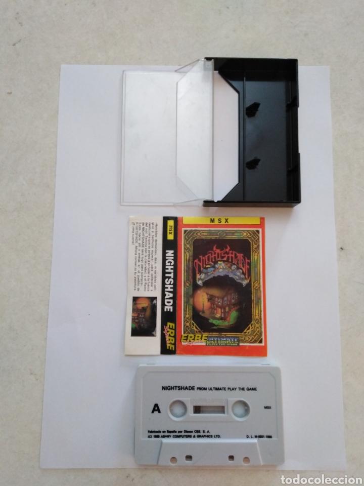 Videojuegos y Consolas: Juego msx ( ERBE ) Nightshade From Ultímate Play The Game - Foto 2 - 254981530