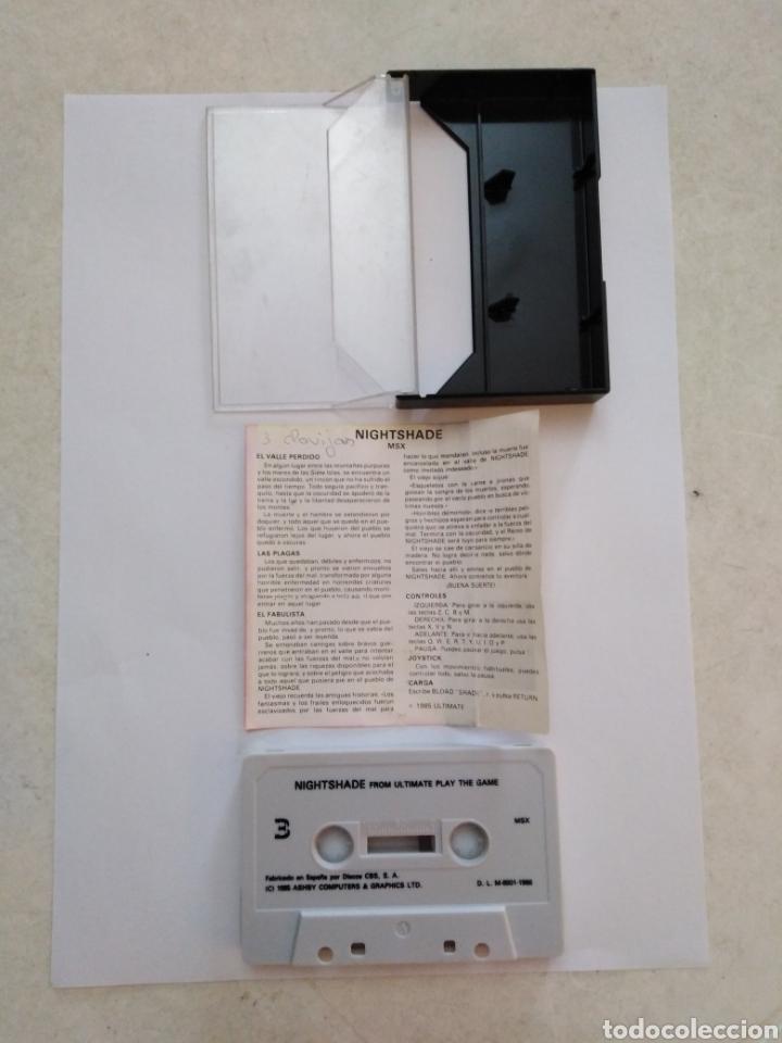 Videojuegos y Consolas: Juego msx ( ERBE ) Nightshade From Ultímate Play The Game - Foto 3 - 254981530