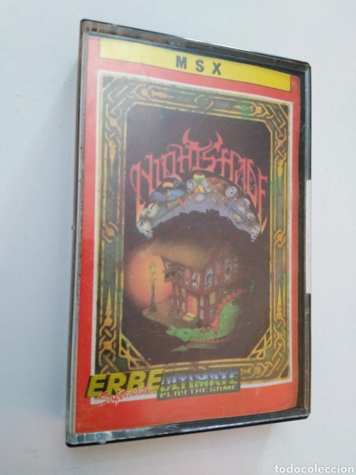 JUEGO MSX ( ERBE ) NIGHTSHADE FROM ULTÍMATE PLAY THE GAME (Juguetes - Videojuegos y Consolas - Msx)