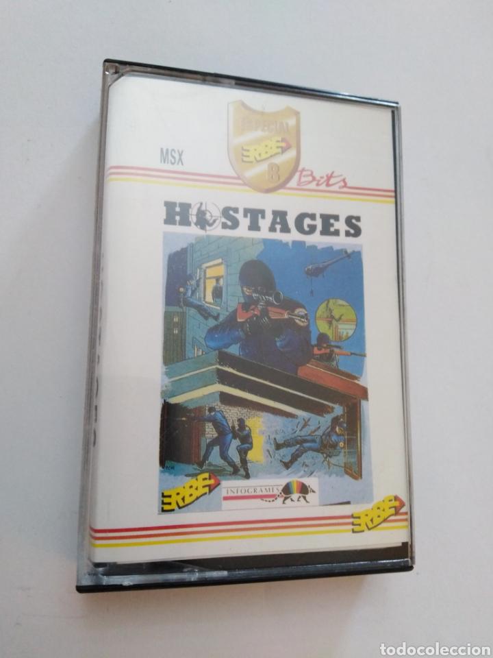 JUEGO MSX ( ERBE ) HOSTAGES (Juguetes - Videojuegos y Consolas - Msx)