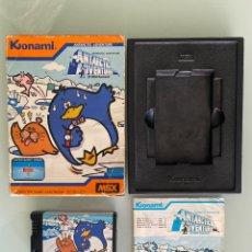 Videojuegos y Consolas: MSX - ANTARCTIC ADVENTURE KONAMI (EURO). Lote 255398290