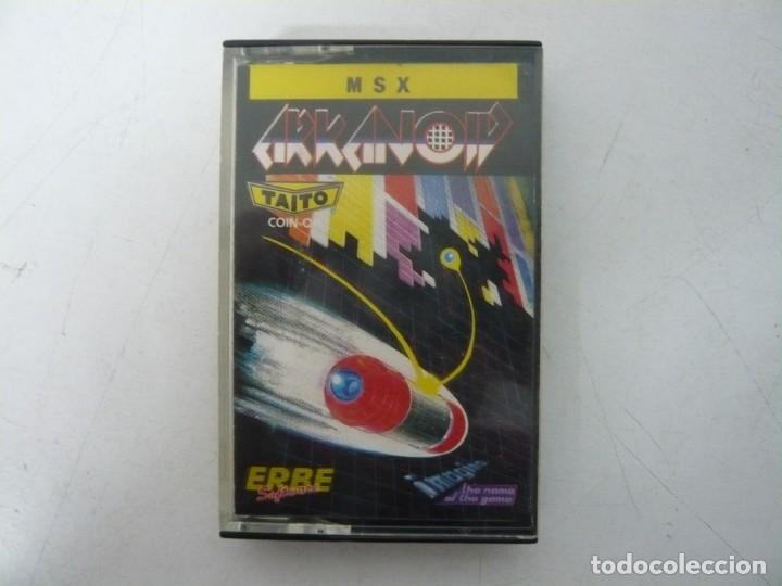 ARKANOID / JEWEL CASE / MSX / RETRO VINTAGE / CASSETTE - CINTA (Juguetes - Videojuegos y Consolas - Msx)