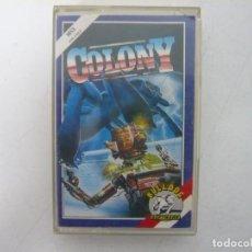 Videojuegos y Consolas: COLONY / JEWELL CASE / MSX / RETRO VINTAGE / CASSETTE - CINTA. Lote 255423855