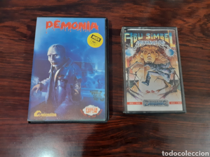 JUEGOS AÑOS 80 (Juguetes - Videojuegos y Consolas - Msx)