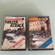 Videojuegos y Consolas: MSX - COLECCION LOTHLORIEN (PANZER ATTACK + SPECIAL OPERATIONS). Lote 256002025