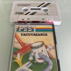 Videojuegos y Consolas: MSX - VACUUMANIA (PSS SOFTWARE). Lote 256035505