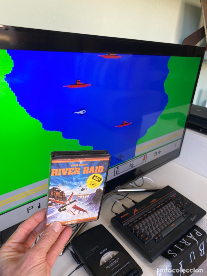 Videojuegos y Consolas: MSX - River Raid (COMPLETO) - Foto 4 - 252583590