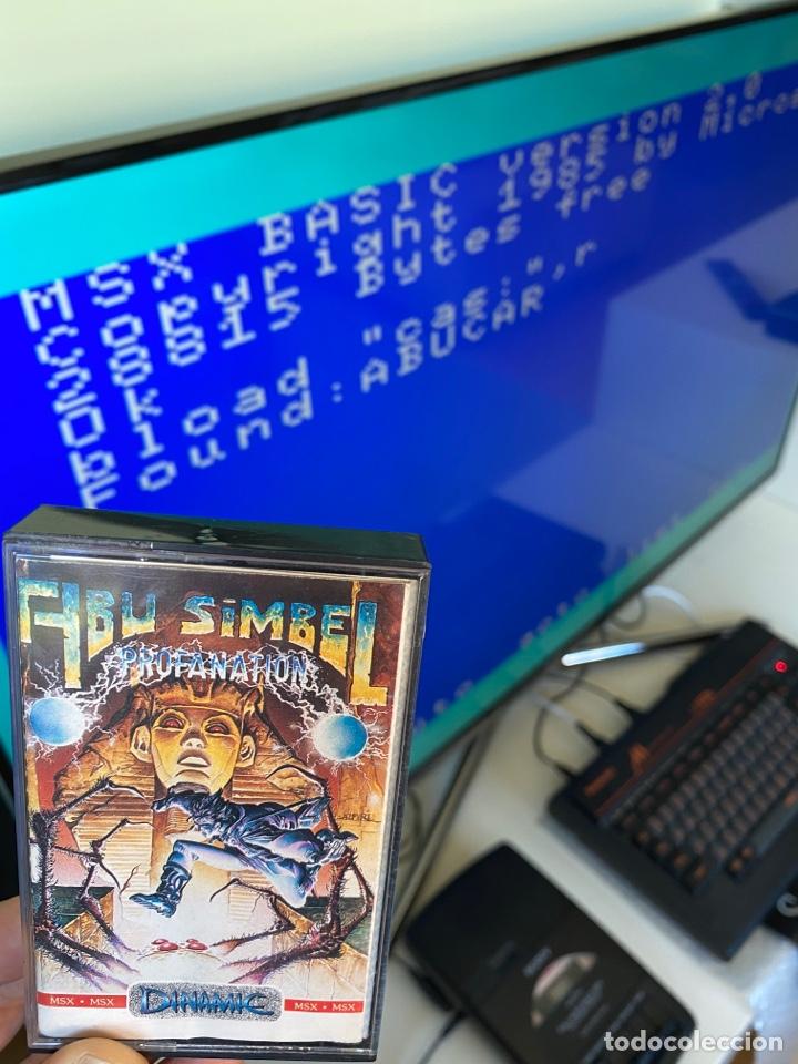 Videojuegos y Consolas: MSX - Abu Simbel Profanation DINAMIC / Carga VERIFICADA - Foto 2 - 248737250