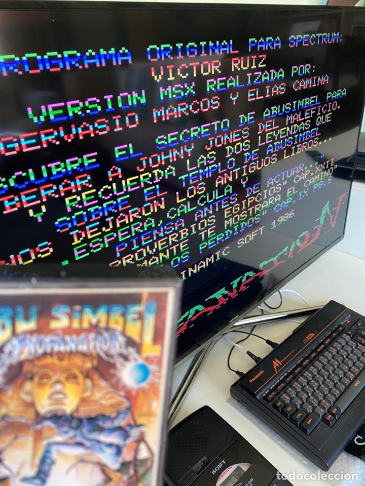 Videojuegos y Consolas: MSX - Abu Simbel Profanation DINAMIC / Carga VERIFICADA - Foto 4 - 248737250