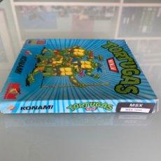 Videojuegos y Consolas: MSX - KONAMI TORTUGAS NINJA (COMPLETO). Lote 258497650