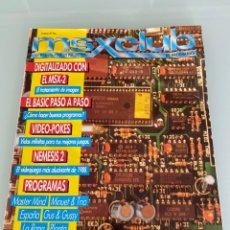 Videogiochi e Consoli: MSX CLUB - NÚMERO 37 (ENERO 1988) - INCLUYE ESPECIAL NEMESIS 2 DE KONAMI. Lote 258941495