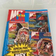 Videojuegos y Consolas: MSX EXTRA - ESPECIAL 2A EDICIÓN (NÚMEROS 18, 19, 20 Y 21). Lote 258961560