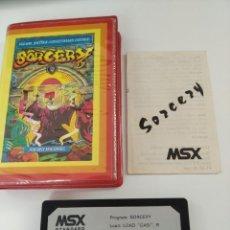 Videojuegos y Consolas: SORCERY MSX. Lote 260018430