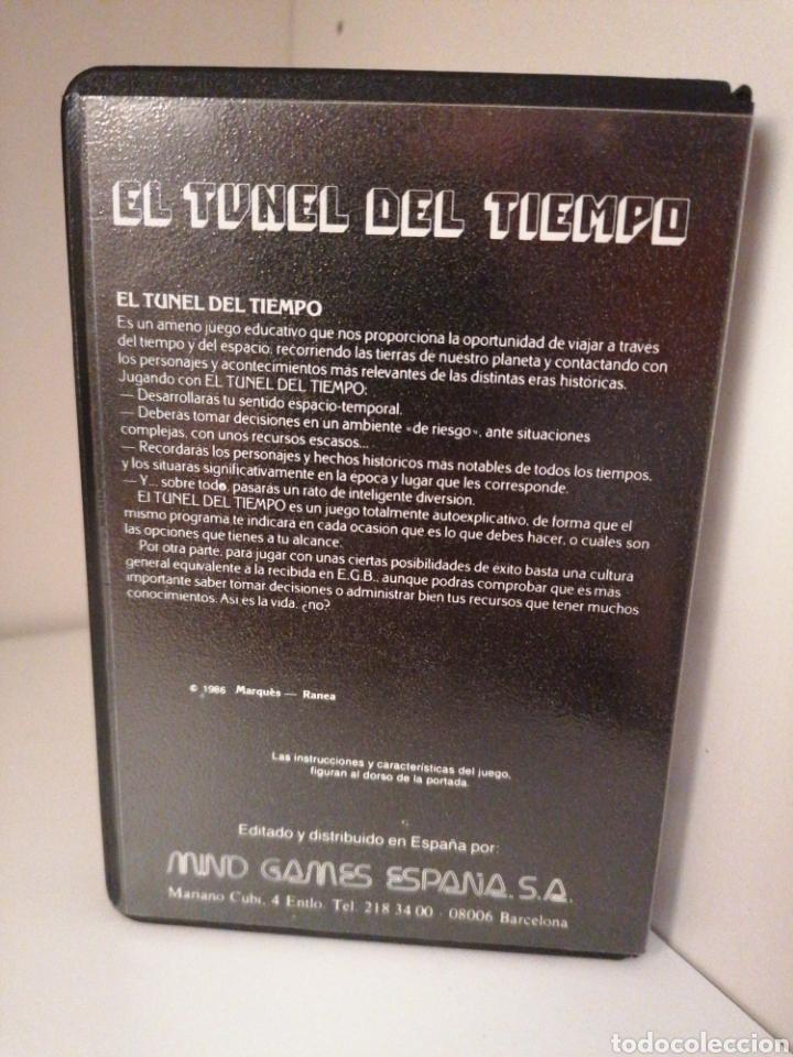 Videojuegos y Consolas: EL TÚNEL DEL TIEMPO. MIND GAMES ESPAÑA. MSX. Nuevo. - Foto 2 - 260810195