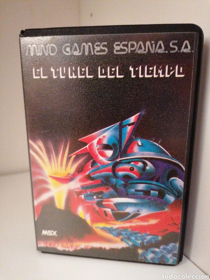 EL TÚNEL DEL TIEMPO. MIND GAMES ESPAÑA. MSX. NUEVO. (Juguetes - Videojuegos y Consolas - Msx)