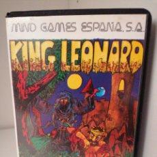 Videojuegos y Consolas: KING LEONARD. MIND GAMES ESPAÑA. MSX. NUEVO. Lote 260811215