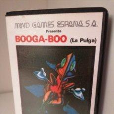 Videojuegos y Consolas: BOOGA-BOO. (LA PULGA) QUICKSILVA. MIND GAMES ESPAÑA. MSX. NUEVO. Lote 260811510