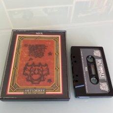 Videojuegos y Consolas: MSX - KNIGHT LORE / 1RA EDICIÓN ORIGINAL ULTIMATE UK (CARGA VERIFICADA). Lote 261228565