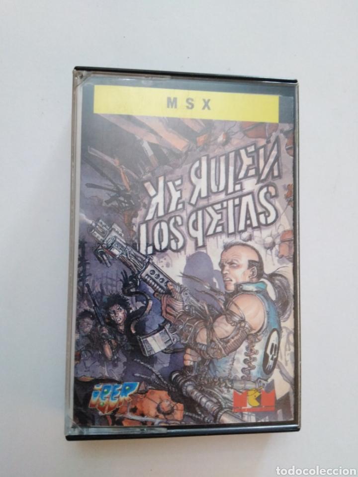 JUEGO MSX ( IPER ) KE RULEN LOS PETAS (Juguetes - Videojuegos y Consolas - Msx)