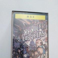 Videojuegos y Consolas: JUEGO MSX ( IPER ) KE RULEN LOS PETAS. Lote 261555145