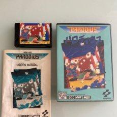 Videojuegos y Consolas: MSX - KONAMI PARODIUS / COMPLETO. Lote 261798795