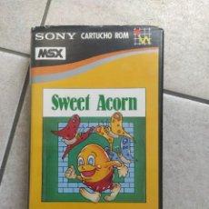 Videojuegos y Consolas: SWEET ACORN MSX MSX2 VERSION ESPAÑA. Lote 262035345