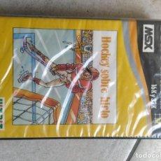 Videojuegos y Consolas: HOCKEY SOBRE HIELO MSX MSX2 VERSION ESPAÑA. Lote 262035530
