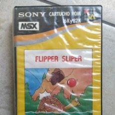 Videojuegos y Consolas: FLIPPER SLIPER MSX MSX2 VERSION ESPAÑA. Lote 262035680