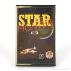 Videojuegos y Consolas: STAR FIGHTER 3 RAREZA EAGLESOFT ESPAÑA BYTEBUSTERS 1986 THE LAST DROME JUEGO CINTA MSX2 MSX CASSETTE. Lote 262217815
