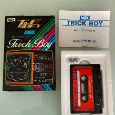Videojuegos y Consolas: MSX - PINBALL T&ESOFT - 1RA EDICIÓN ORIGINAL JAPONESA EN CINTA CASSETTE / IMPECABLE / VERSIÓN MSX1. Lote 262256675