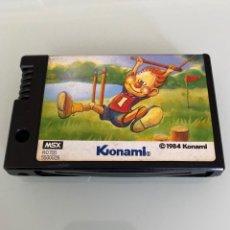 Videojuegos y Consolas: MSX - KONAMI / ATHLETIC LAND (CARTUCHO ROM). Lote 254887765
