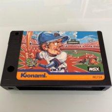 Videojuegos y Consolas: MSX - KONAMI BASEBALL. Lote 262406365
