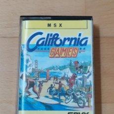 Videojuegos y Consolas: JUEGO MSX CALIFORNIA GAMES EPYX 1987 FUNCIONANDO PERFECTAMENTE. Lote 262571110