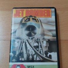 Videojuegos y Consolas: JUEGO MSX MSX2 JET BOMBER AACKOSOFT 1985 FUNCIONANDO PERFECTAMENTE. Lote 262571460