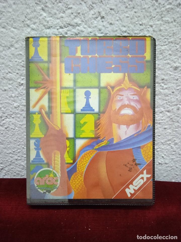 TURBO CHESS. MSX (Juguetes - Videojuegos y Consolas - Msx)
