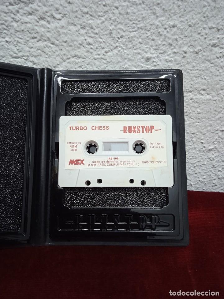 Videojuegos y Consolas: Turbo Chess. MSX - Foto 2 - 262572570