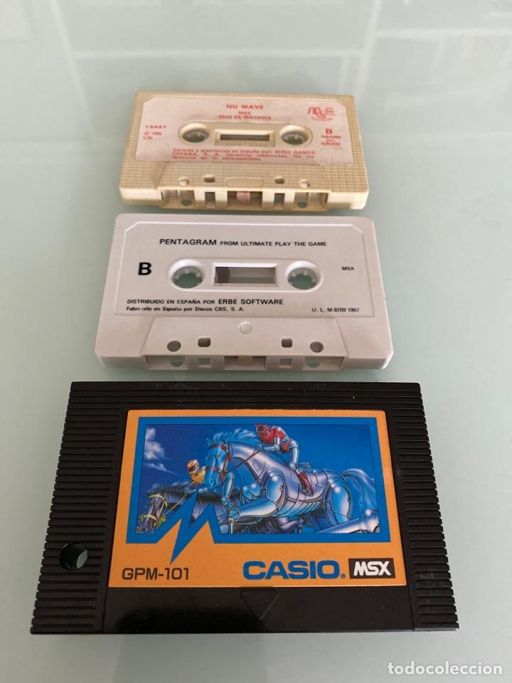 Videojuegos y Consolas: MSX - lote Juegos en Cartucho y Cassette (FUNCIONAMIENTO VERIFICADO) - Foto 2 - 262585850