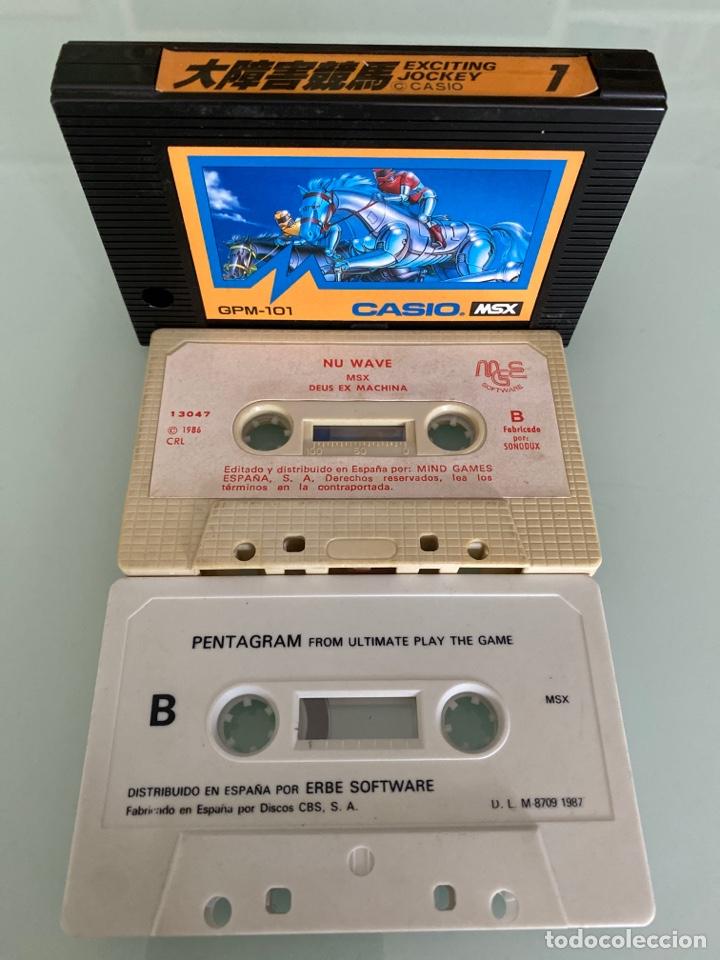 Videojuegos y Consolas: MSX - lote Juegos en Cartucho y Cassette (FUNCIONAMIENTO VERIFICADO) - Foto 3 - 262585850