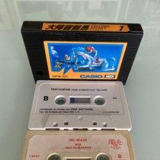 Videojuegos y Consolas: MSX - LOTE JUEGOS CARTUCHO Y CASSETTE (FUNCIONAMIENTO VERIFICADO). Lote 262585850
