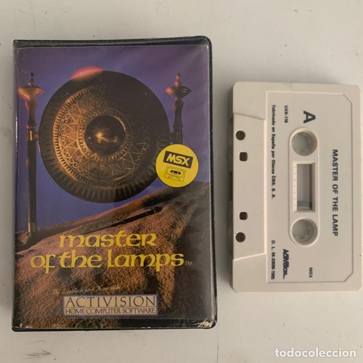 JUEGO DE ORDENADOR MSX MASTER OF THE LAMPS (Juguetes - Videojuegos y Consolas - Msx)