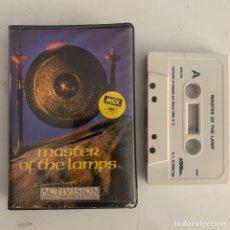 Videojuegos y Consolas: JUEGO DE ORDENADOR MSX MASTER OF THE LAMPS. Lote 262699215