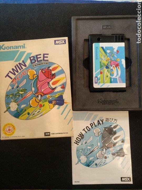 JUEGO TWIN BEE, MSX. BUEN ESTADO (Juguetes - Videojuegos y Consolas - Msx)