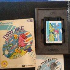 Videojuegos y Consolas: JUEGO TWIN BEE, MSX. BUEN ESTADO. Lote 262719845