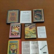 Videojuegos y Consolas: LOTE DE CINTAS MSX. Lote 262846040