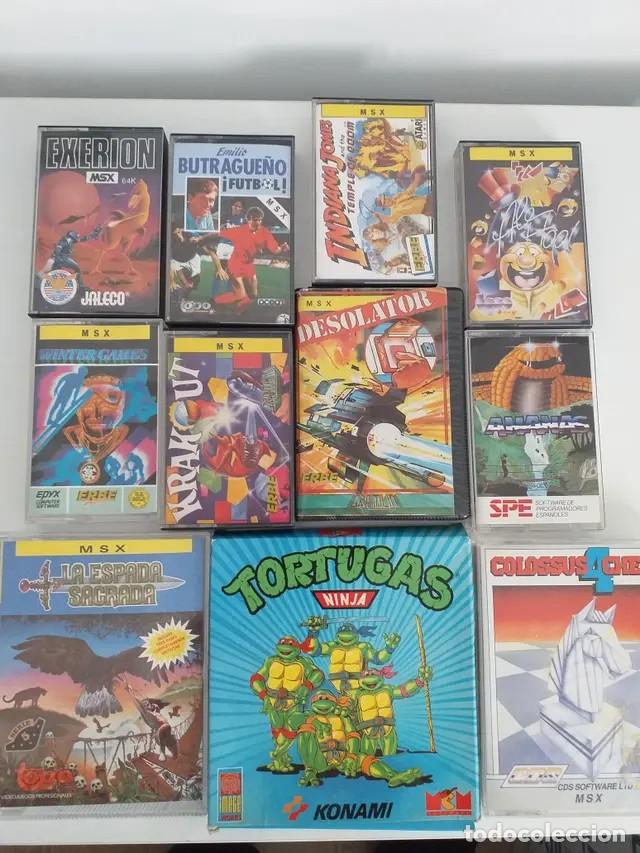JUEGOS MSX (Juguetes - Videojuegos y Consolas - Msx)