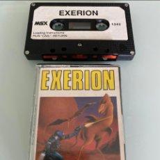Videojuegos y Consolas: MSX - EXERION (SEGA) / CARGA VERIFICADA. Lote 266304278