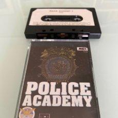 Videojuegos y Consolas: MSX - POLICE ACADEMY (CARGA VERIFICADA). Lote 266314323