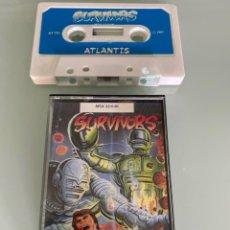Videojuegos y Consolas: MSX - SURVIVORS ATLANTIS (1RA. EDICIÓN ORIGINAL UK). Lote 266318273