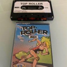 Videojuegos y Consolas: MSX - TOP ROLLER (JALECO). Lote 266319453