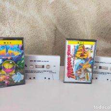 Videojuegos y Consolas: INDIANA JONES MAD MIX GAME MSX. Lote 266326208
